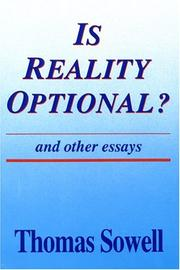 Cover of: Is reality optional?