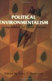 Cover of: Political Environmentalism