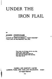 Cover of: Under the Iron Flail | Oxenham, John