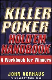 Cover of: Killer poker hold