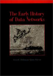 Cover of: The early history of data networks