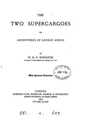 Cover of: The two supercargoes