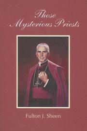 Cover of: Those Mysterious Priests