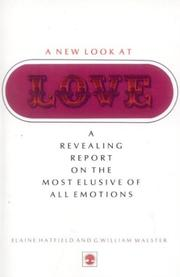 Cover of: A new look at love