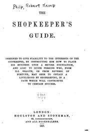 Cover of: The Shopkeeper