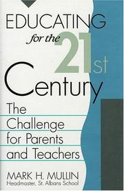 Cover of: Educating for the 21st century