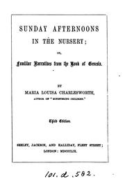 Cover of: Sunday afternoons in the nursery | Maria Louisa Charlesworth