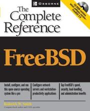 Cover of: FreeBSD: the complete reference
