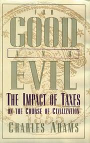 Cover of: For good and evil