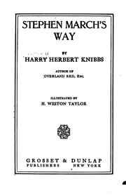 Cover of: Stephen March's Way