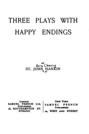 Cover of: Three Plays with Happy Endings |