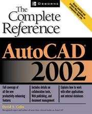 Cover of: AutoCAD(R) 2002