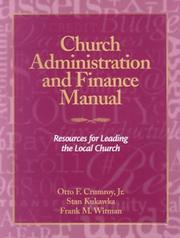 Cover of: Church administration and finance manual