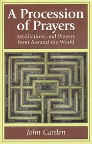 Cover of: A procession of prayers |