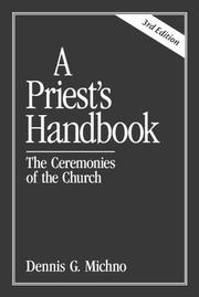 Cover of: A priest's handbook