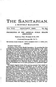 Cover of: The Sanitarian |