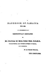 Cover of: The Handbook of Jamaica |