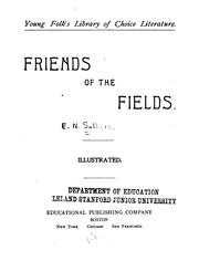 Cover of: Friends of the Fields ... |