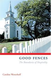 Cover of: Good fences