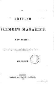 Cover of: British Farmer