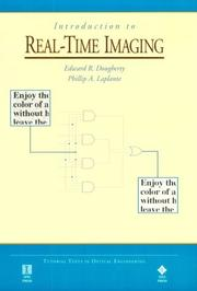 Cover of: Introduction to real-time imaging | Edward R. Dougherty