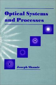 Cover of: Optical systems and processes