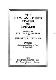 PDF) The Days And Deeds: Reader And Speaker Download Book
