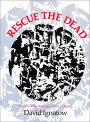 Cover of: Rescue the dead