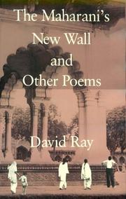 Cover of: The Maharani's new wall and other poems