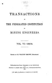 Cover of: The Mining Engineer |