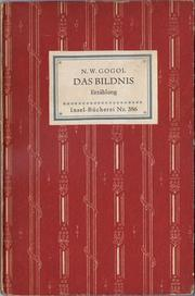 Cover of: Das Bildnis