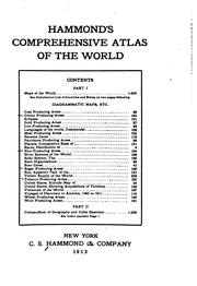 Cover of: Hammond's Comprehensive Atlas of the World by