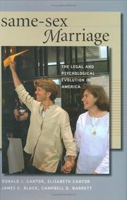Cover of: Same-sex marriage