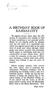 Cover of: A Birthday Book of Kansas City, 1821-1921 |