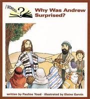 Cover of: Why was Andrew surprised?