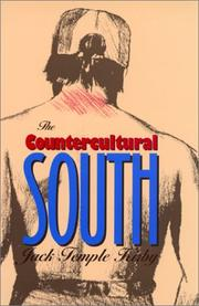 Cover of: The countercultural South | Jack Temple Kirby