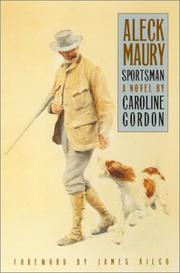 Cover of: Aleck Maury, sportsman