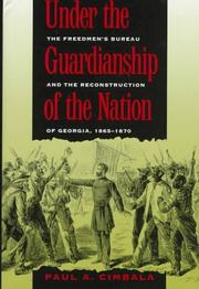 Cover of: Under the guardianship of the nation
