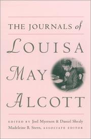 Cover of: The journals of Louisa May Alcott