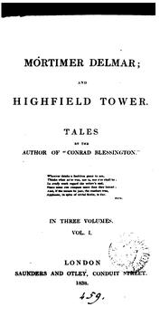 Cover of: Mortimer Delmar; and Highfield tower, by the author of
