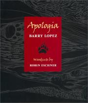 Cover of: Apologia