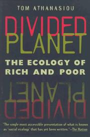 Cover of: Divided planet
