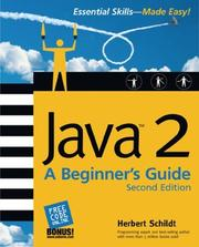 Cover of: Java(tm)2: A Beginner's Guide