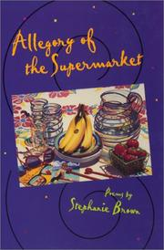 Cover of: Allegory of the supermarket