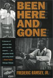 Cover of: Been here and gone