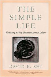 Cover of: The simple life