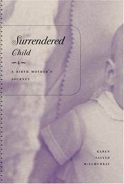 Cover of: Surrendered Child