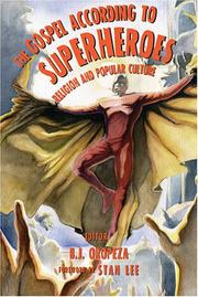 Cover of: The Gospel According to Superheroes |