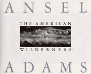 Cover of: The American wilderness