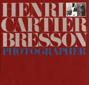 Cover of: Henri Cartier Bresson, photographie